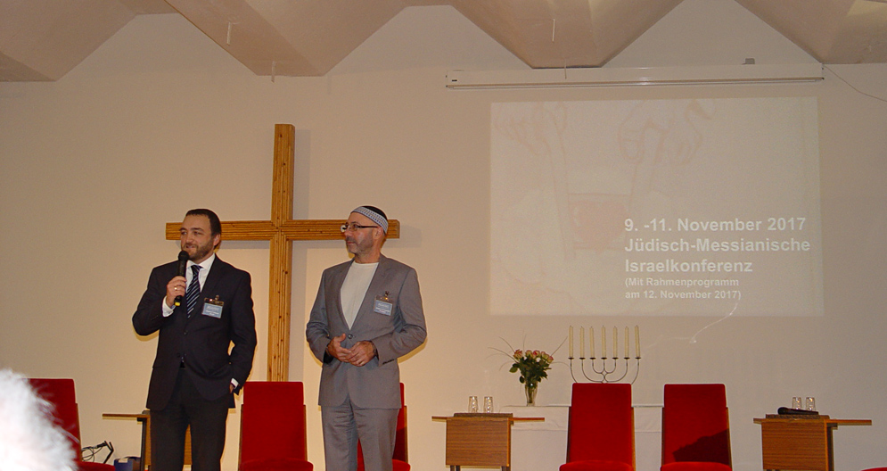 Wladimir Pikman+Anatoli Uschomirski Israelkonferenz