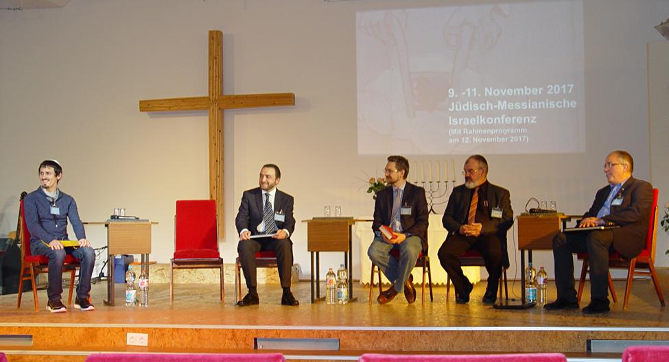 Podium Israelkonferenz