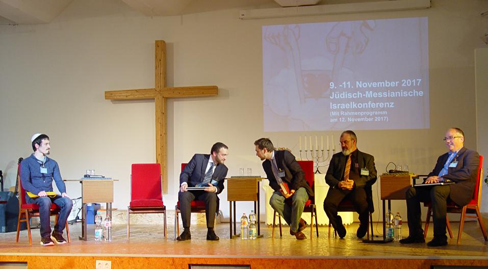 Podiumsrunde Israelkonferenz
