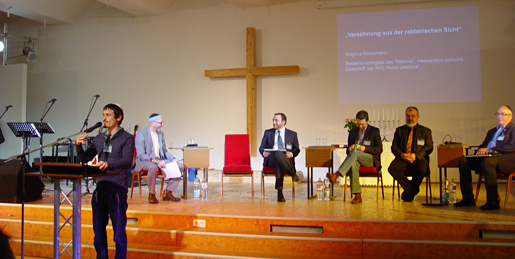 Magnus Johannes Grossmann Israelkonferenz