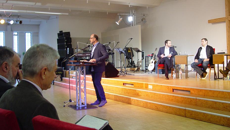 Winfried Rudloff Israelkonferenz