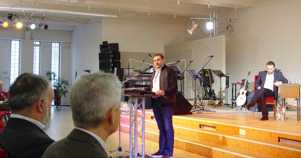 Dmitriy Siroy Israelkonferenz