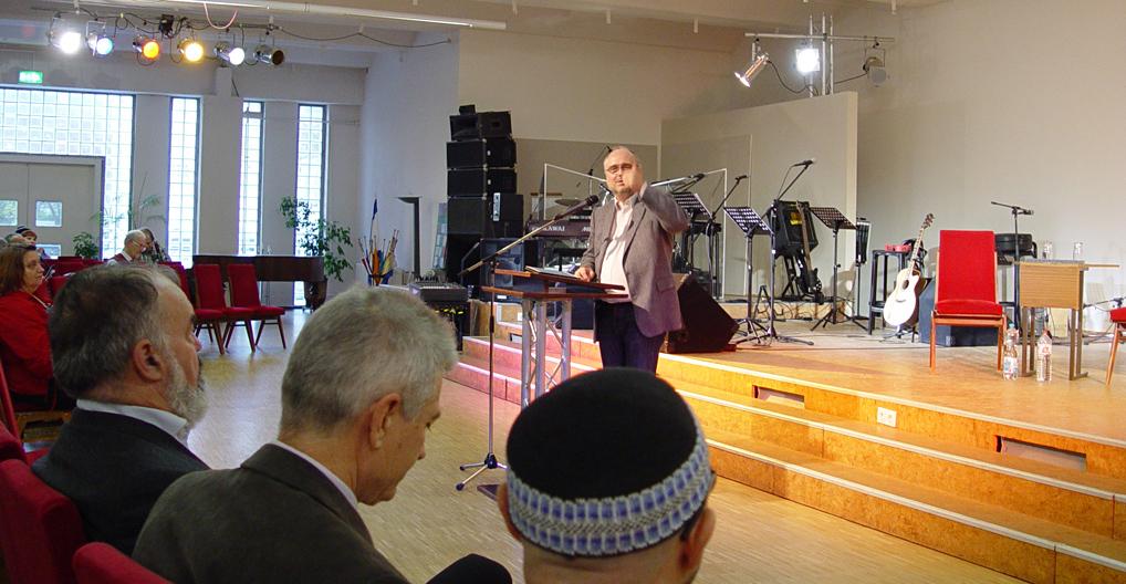 Guido Baltes Israelkonferenz
