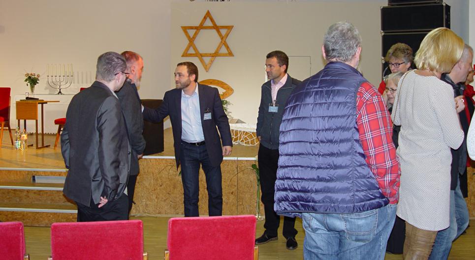 Pausengespräch Israelkonferenz