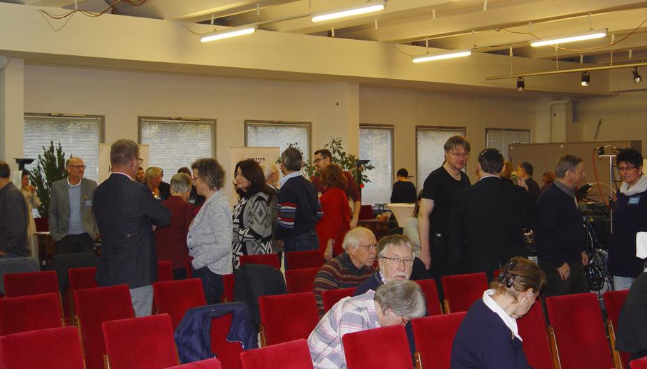 Pause-Publikum Israelkonferenz