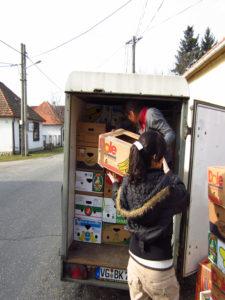 Missionsreise in die Stadt Levice, auspacken 2