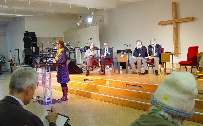 Andrea Meyerhoff Israelkonferenz