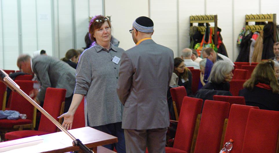 Daniela+Anatoli Gespräch Israelkonferenz