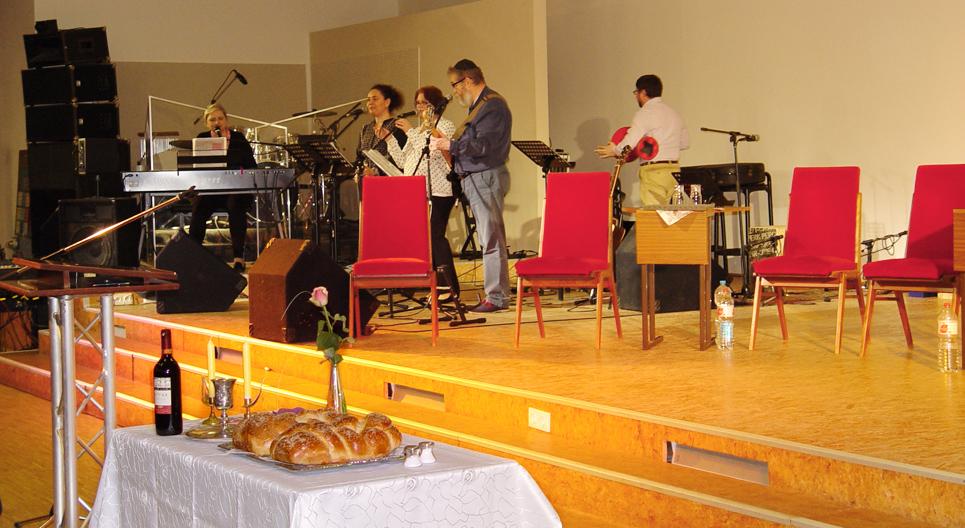 _Lobpreisteam -Shabbat Israelkonferenz