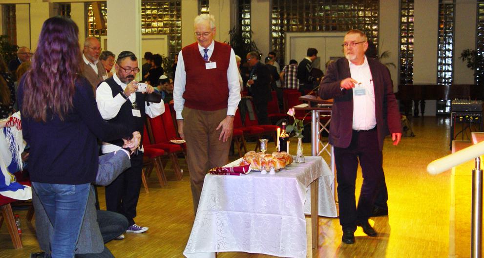 Abendmalstisch Israelkonferenz
