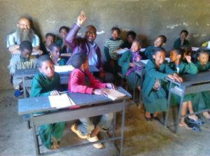 Schüler in Äthiopien