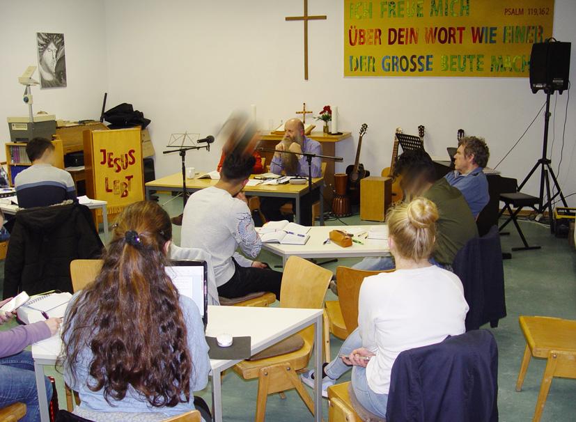 Seminar in der Passionswoche 12