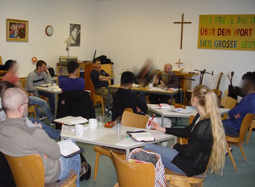 Seminar in der Passionswoche 22