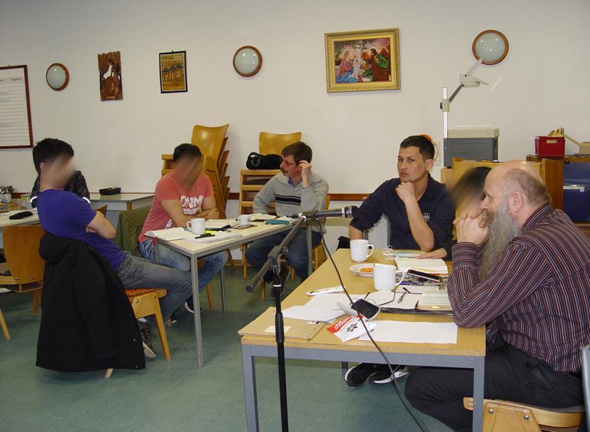 Seminar in der Passionswoche 25
