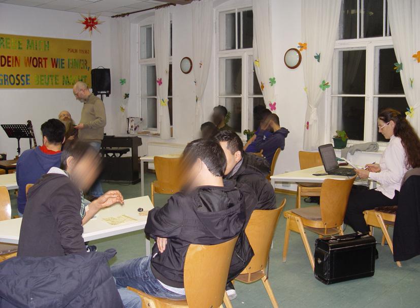 Seminar in der Passionswoche 28