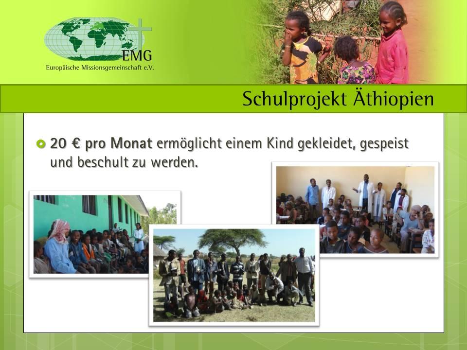 Schulprojekt Äthiopien