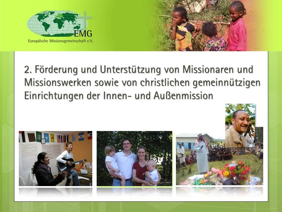 Missionare und Missionswerke unterstützen