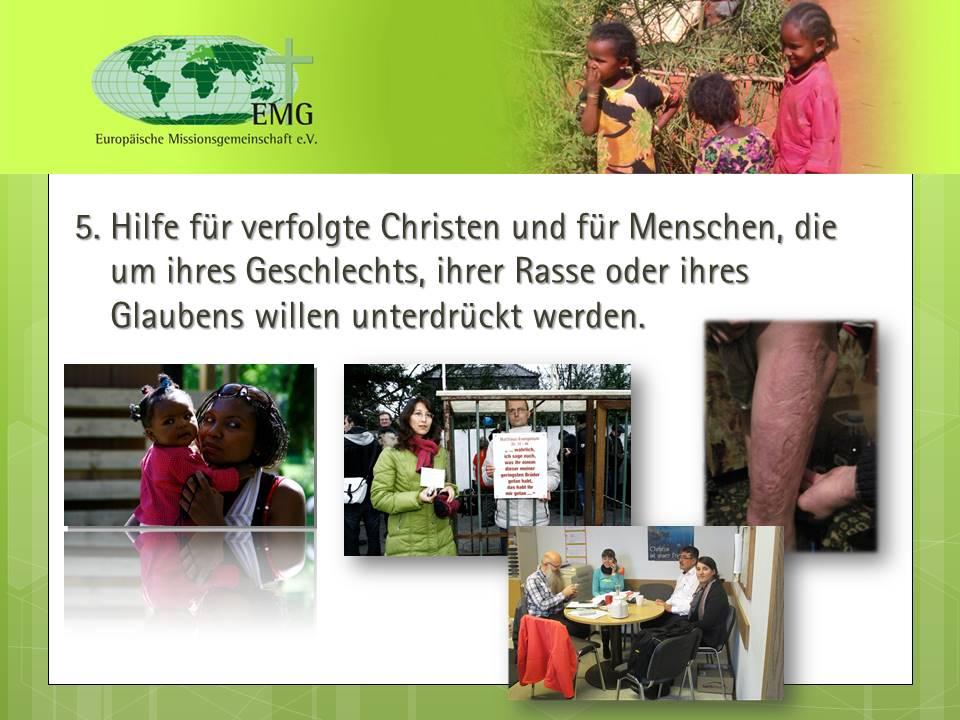 Hilfe für verfolgte Christen