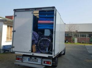 Hilfsgüter-Transport 4
