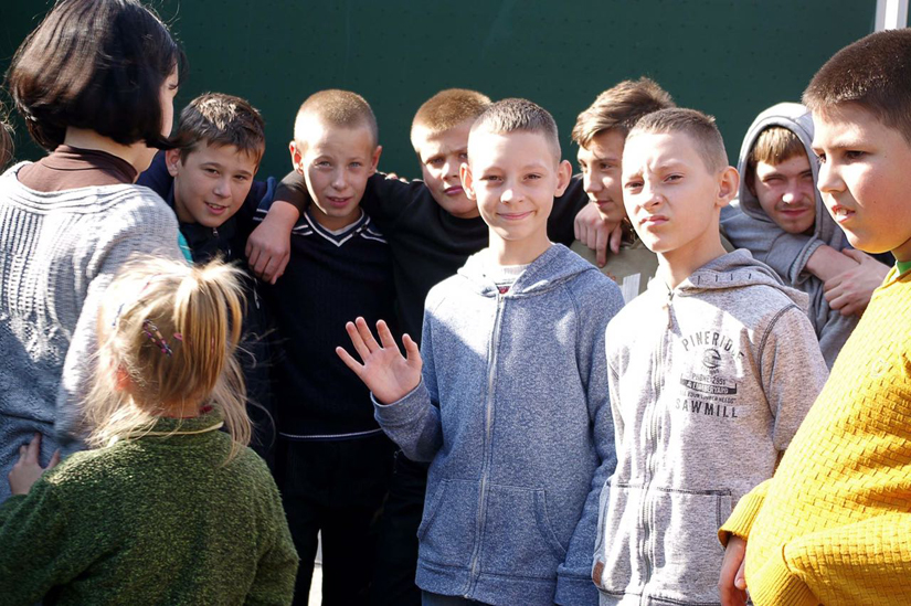 Schulkinder 10 - verteilt