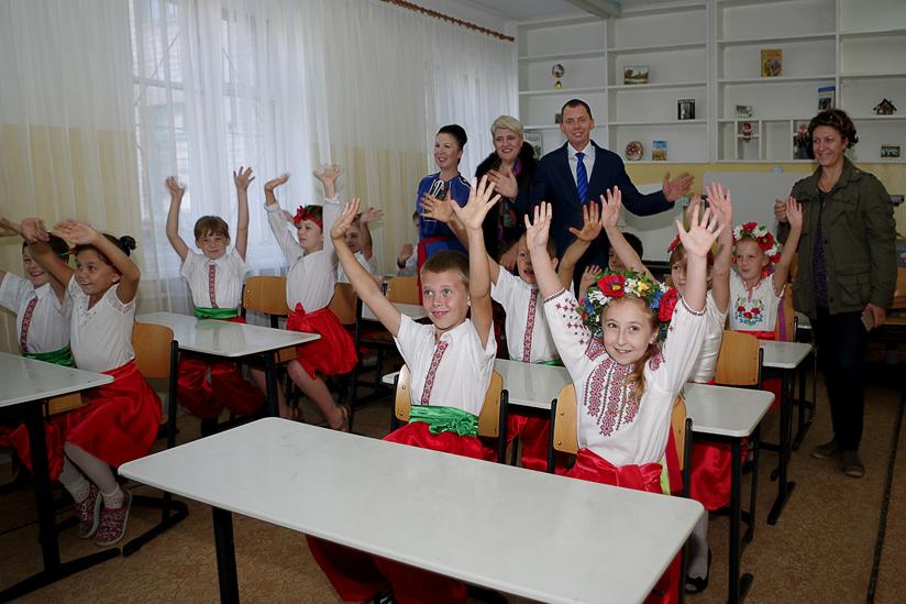 Schulkinder 2 verteilt