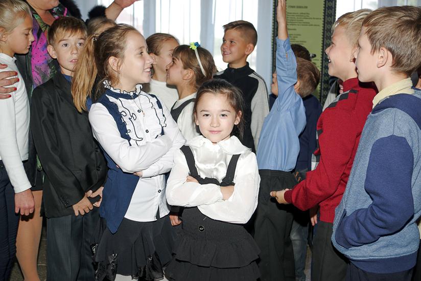 Schulkinder 3 - verteilt
