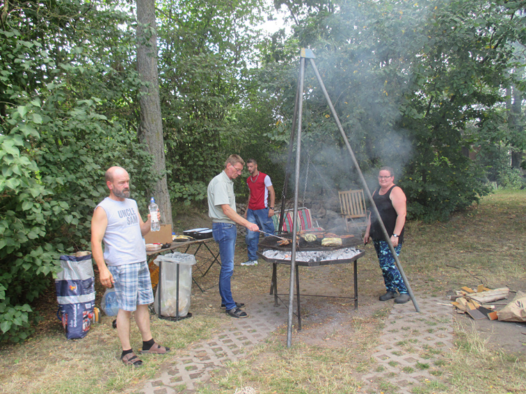 Sommerfest Grill