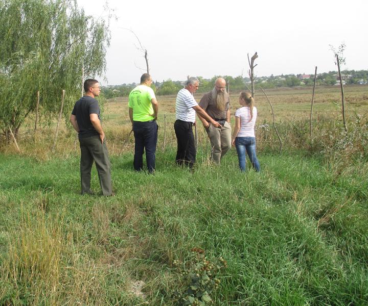 Weidefläche-Moldawien