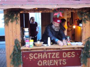 Stand auf dem Weihnachtsmarkt in Penkun 2