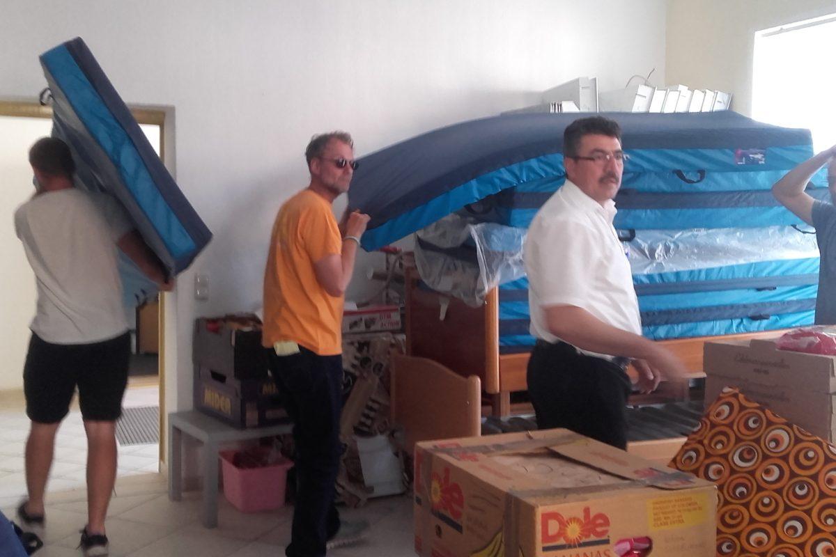 Hilfsgütertransport 4