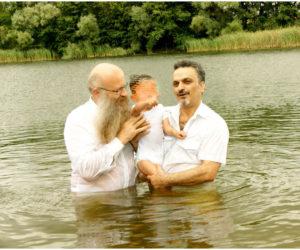 Frank Seidler und Arash bei der Taufe 5