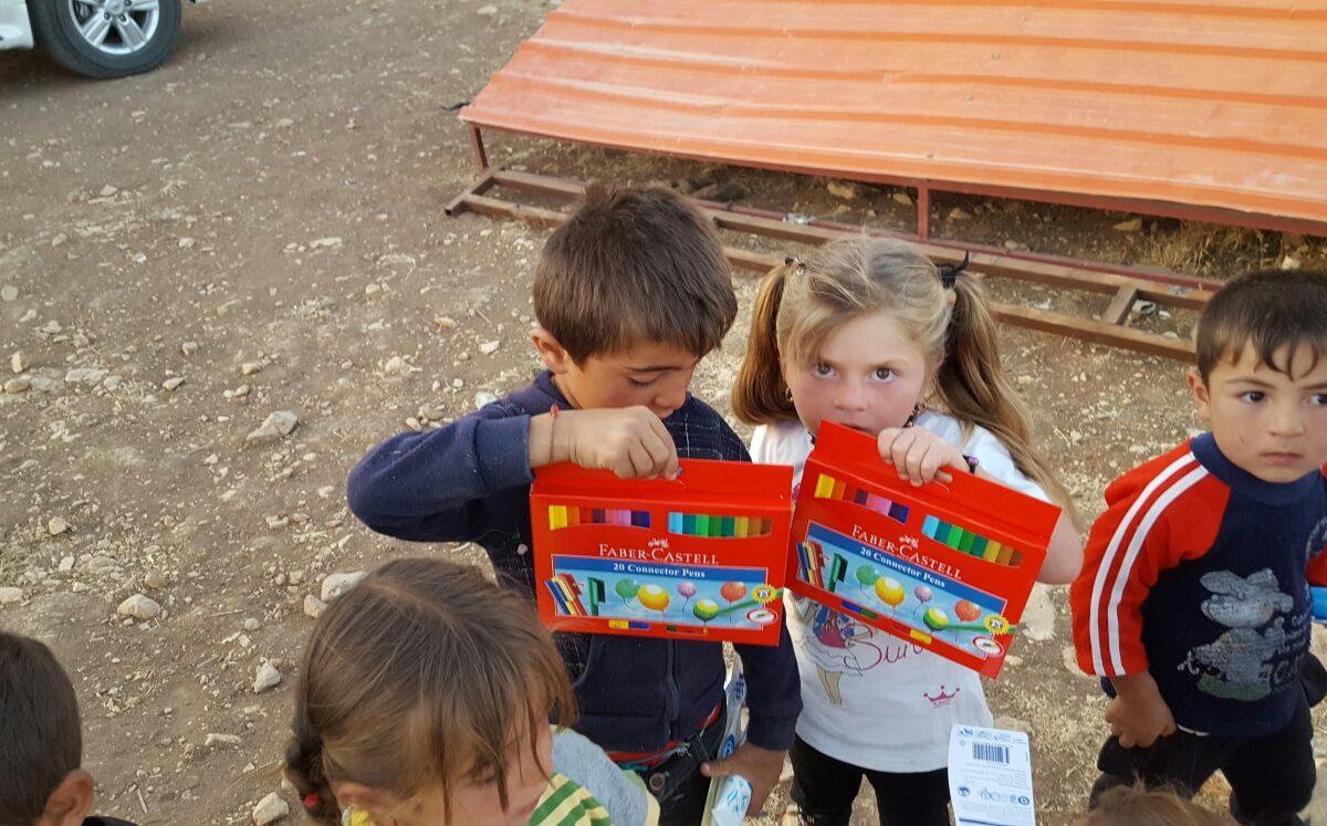 Faberstifte für Waisenkinder 1