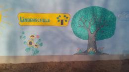 Wandbild der Lindenschule