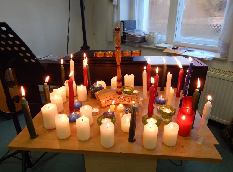 Kerzen, Glaubenskurs