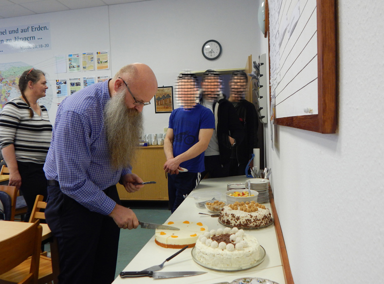 Geburtstagsfeier, Glaubenskurs