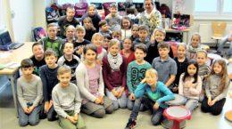 Kinder und Frau Wöhlbrandt