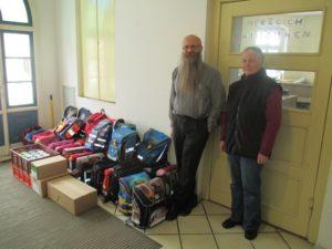 Schulranzen- Ukrainehilfe