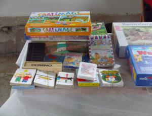Kinderspiele- Flohmarkt