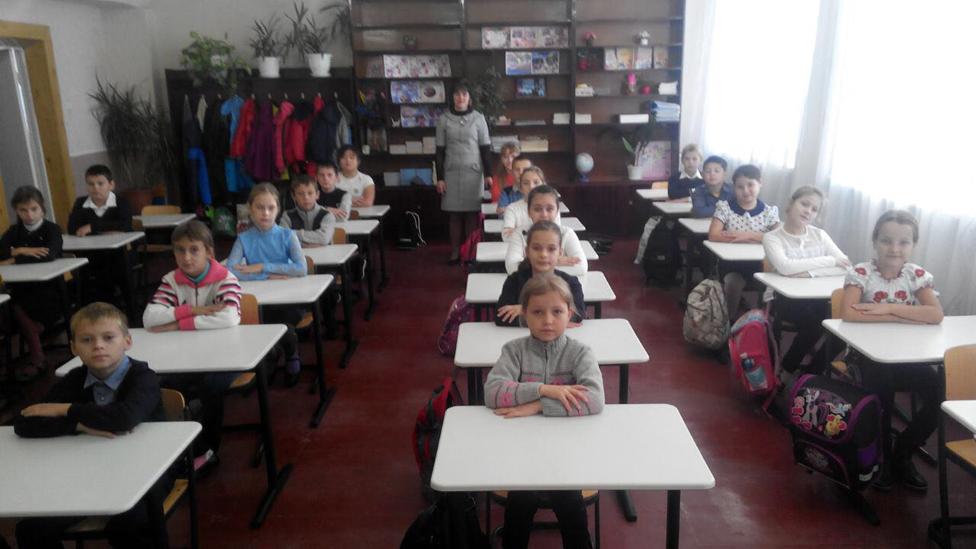 Kinder der Schule 4