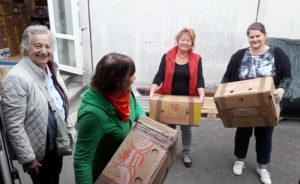 Hilfsgüterfahrt nach Levice 8