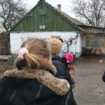 Besuch bei einer Familie in Not - Armut