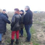 Gespräch auf dem Grundstück von Olga - Asowsches Meer