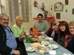 Norman, Luba, Wladimir, Katinka, Olga 3 Baptistengemeinde