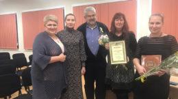 Antonovka - Olga, stellvertretende Bürgermeisterin, Norman Kerner, Daniela, Katinka