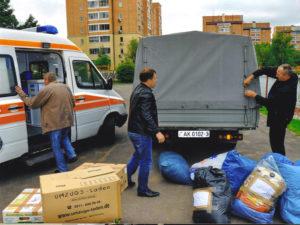 Osthilfe, Verteilaktion in Weißrussland