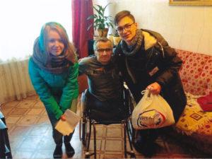 Osthilfe, Mann - Rollstuhl