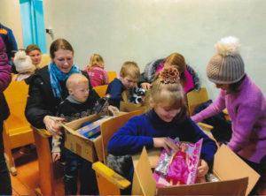 Osthilfe, Kinder-Weihnachtspakete