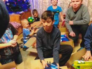 Osthilfe, Kinder Geschenke