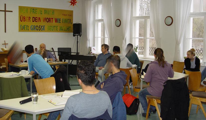 Seminar in der Passionswoche