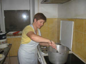Olga kocht Chisinau